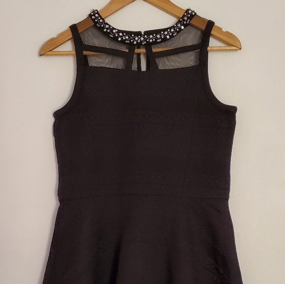 NWT The Children's Place Girl's Black Dress